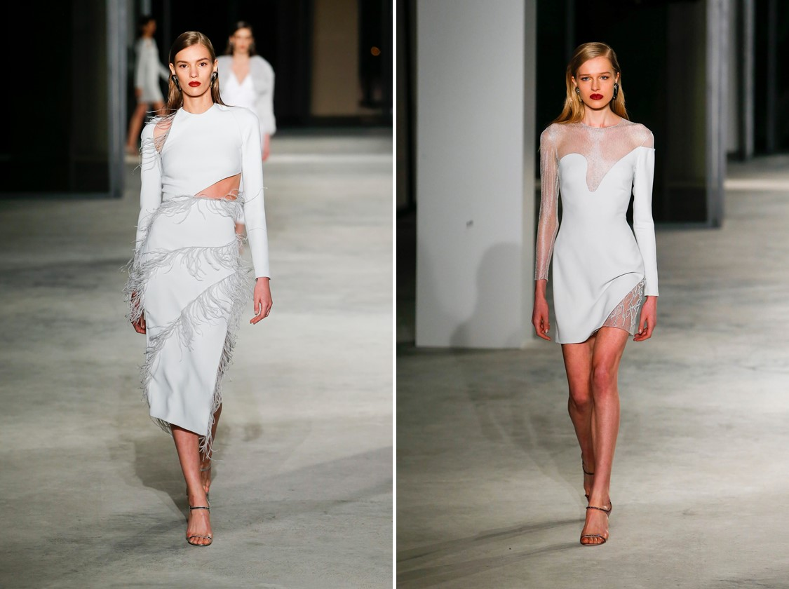 NY FASHION WEEK 2018 - VESTIDOS CUSHNIE ET OCHS