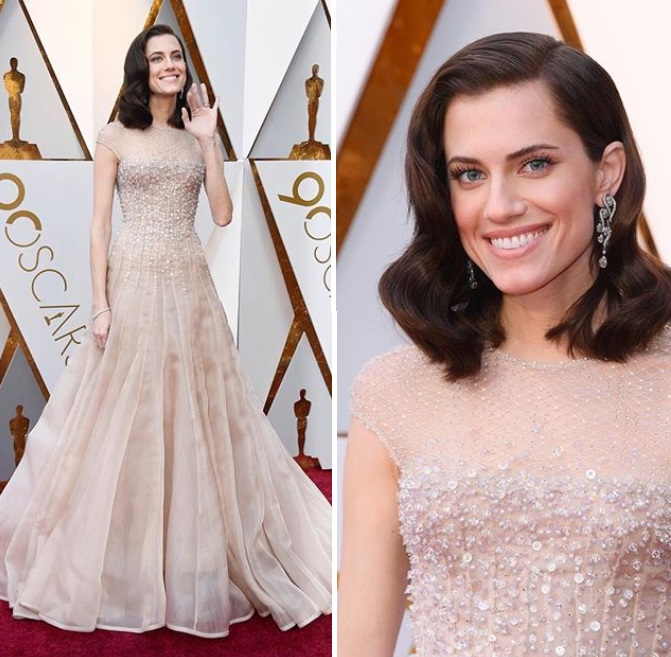 VESTIDOS DO OSCAR 2018 - ALLISON WILLIAMS