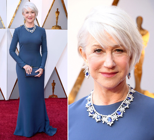 VESTIDOS DO OSCAR 2018 - HELLEN MIRREN