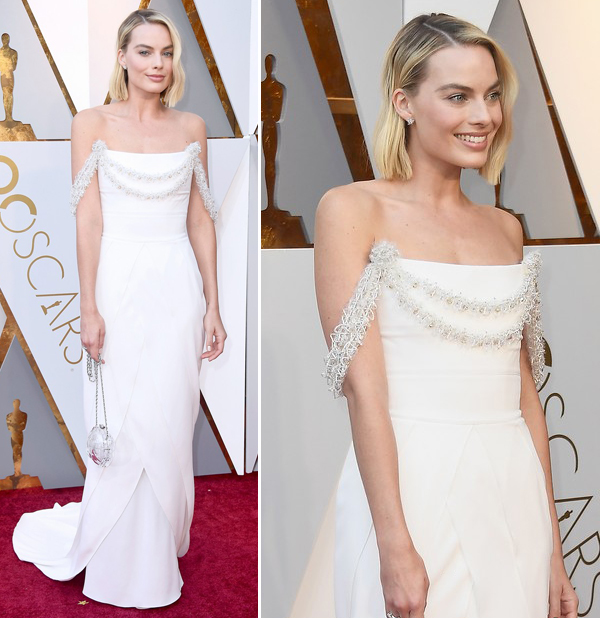 VESTIDOS DO OSCAR 2018 - MARGOT ROBBIE