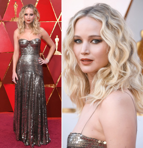 VESTIDOS DO OSCAR 2018 - JENNIFER LAWRENCE