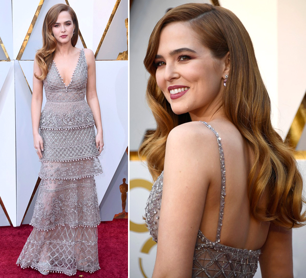 VESTIDOS DO OSCAR 2018 - ZOEY DEUTCH