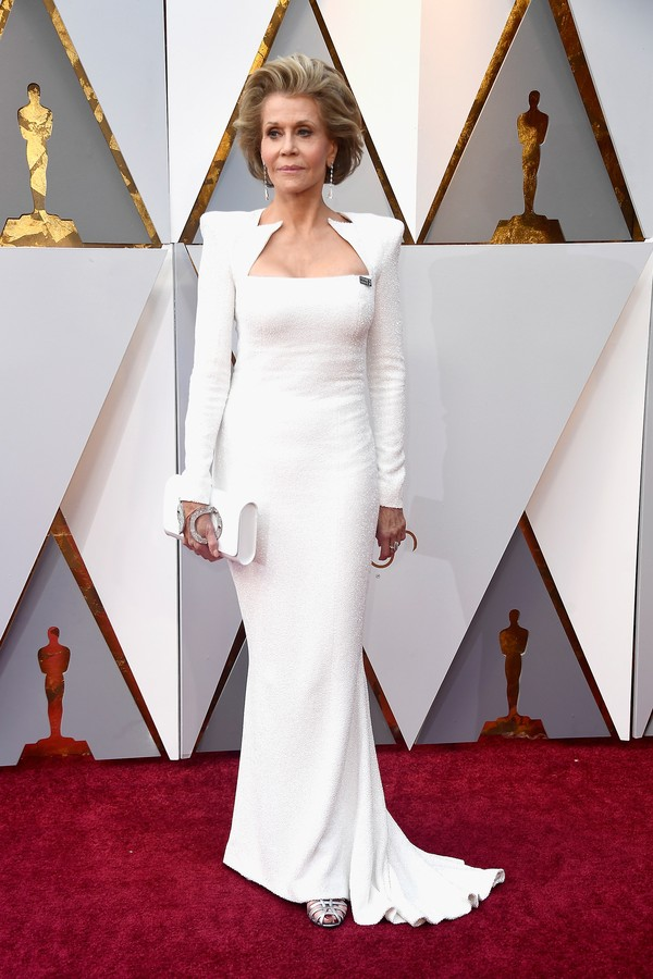 VESTIDOS DO OSCAR 2018 - JANE FONDA