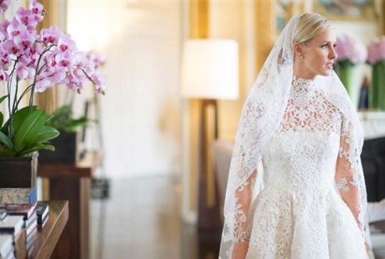 O encantador casamento de Nicky Hilton