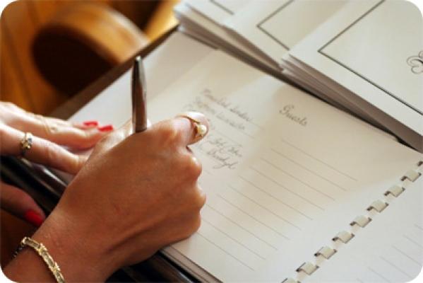 Checklist: Lista de convidados