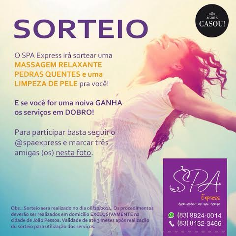 Sorteio do Spa Express
