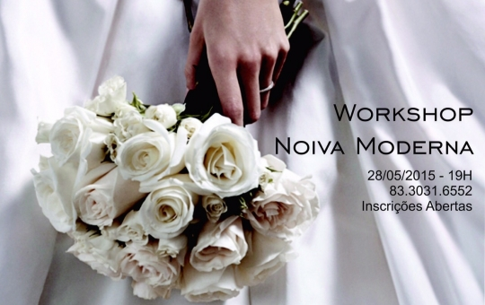Convite: Workshop Noivas Modernas