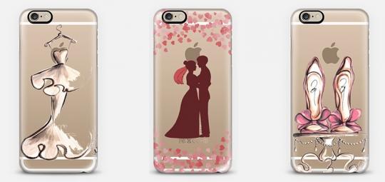 Capinhas de celular para Noivas