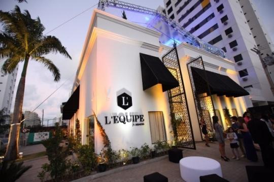 Inauguração do L'EQUIPE Jr Mendes