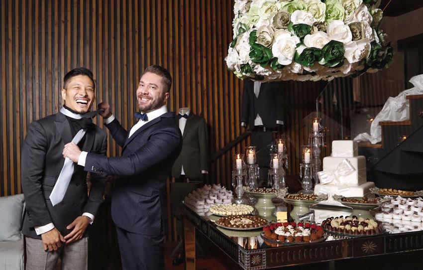 Lucas Anderi e Alexandre Won lançam linha de gravatas para noivos e padrinhos