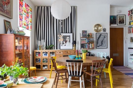Apartamento Colorido e Alegre