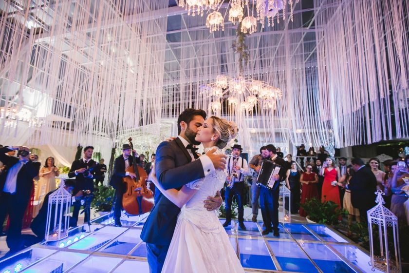 A escolha da decoração de casamento perfeita