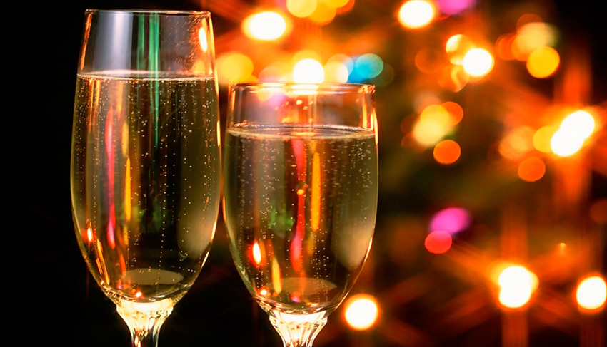 Idéias para brindar o ano novo em grande estilo