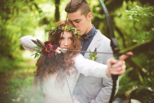 Casamento inspirado no filme Valente da Disney
