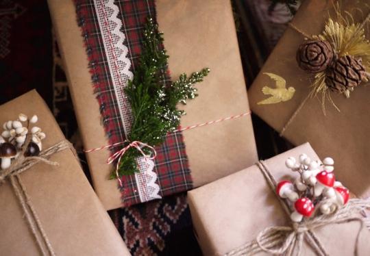 Embalando um presente com Amor