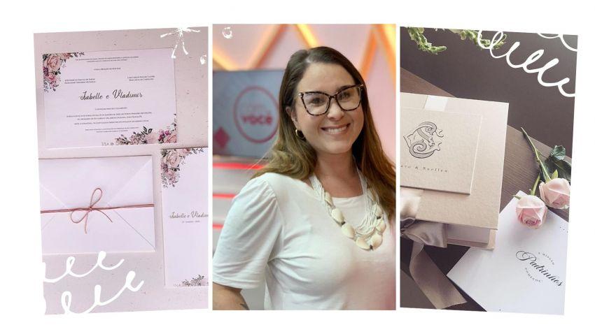 Bate-papo com Bruna Lubambo da Papel Raro - convites e papelaria para casamento