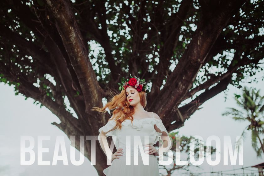Beauty in Bloom {Editorial} Beleza da noiva