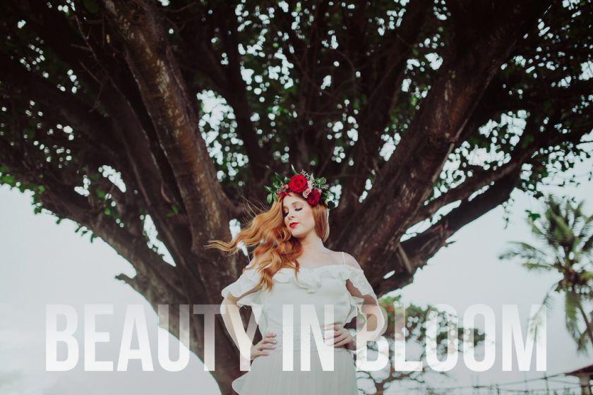 Beauty in Bloom {Editorial} Beleza da noiva