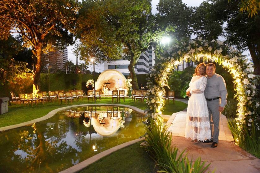 Bodas de Prata - 25 anos de casamento de Débora e Leinaldo