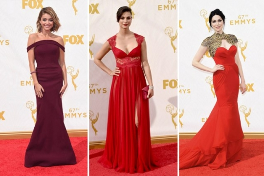 Emmy 2015 - Se inspire nos lindos vestidos do Red Carpet