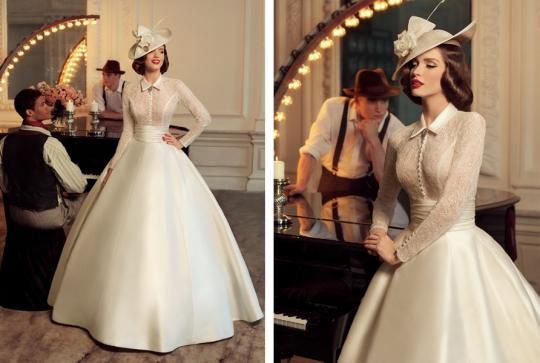 Vestidos para Noivas inspirados nos anos 1960