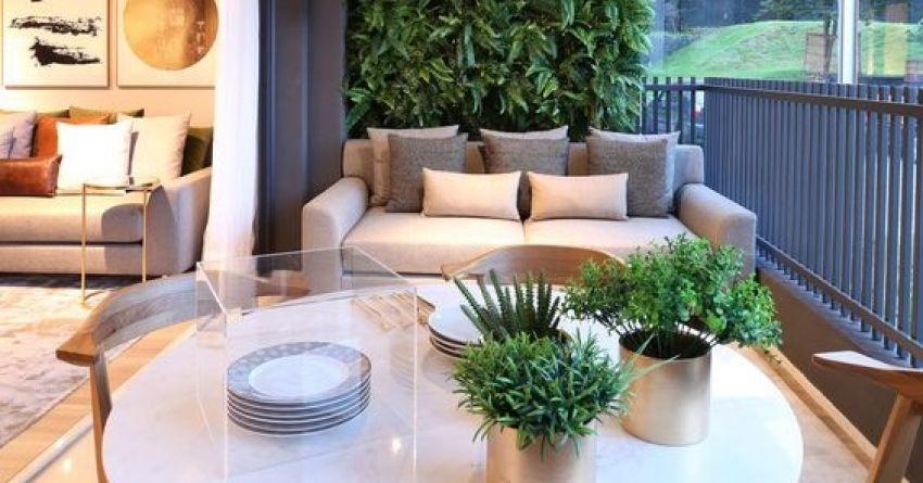 Casa&Decor: Vegetação em Apartamento