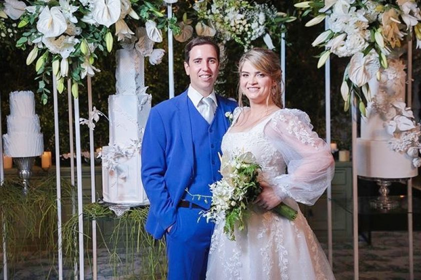 Casamento Camila Forte e Rafael Morais