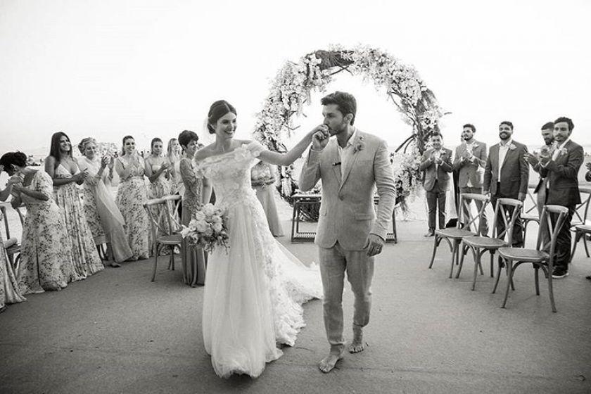 Casamento Camila Queiroz e Klebber Toledo