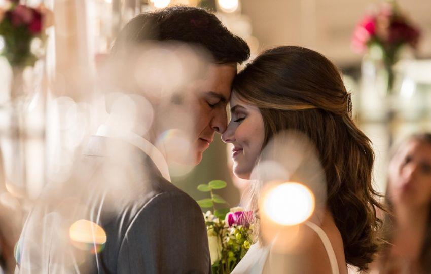 Casamento de Luíza e Eric da novela