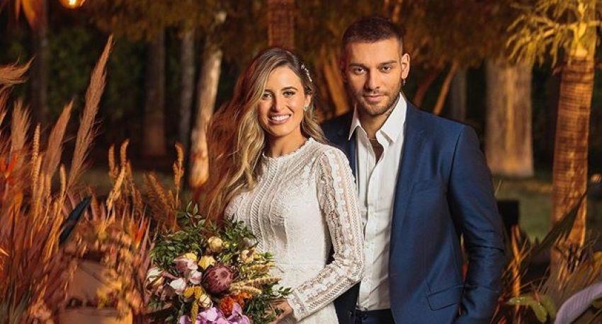 Casamento Civil do cantor Lucas Lucco e Lorena Carvalho