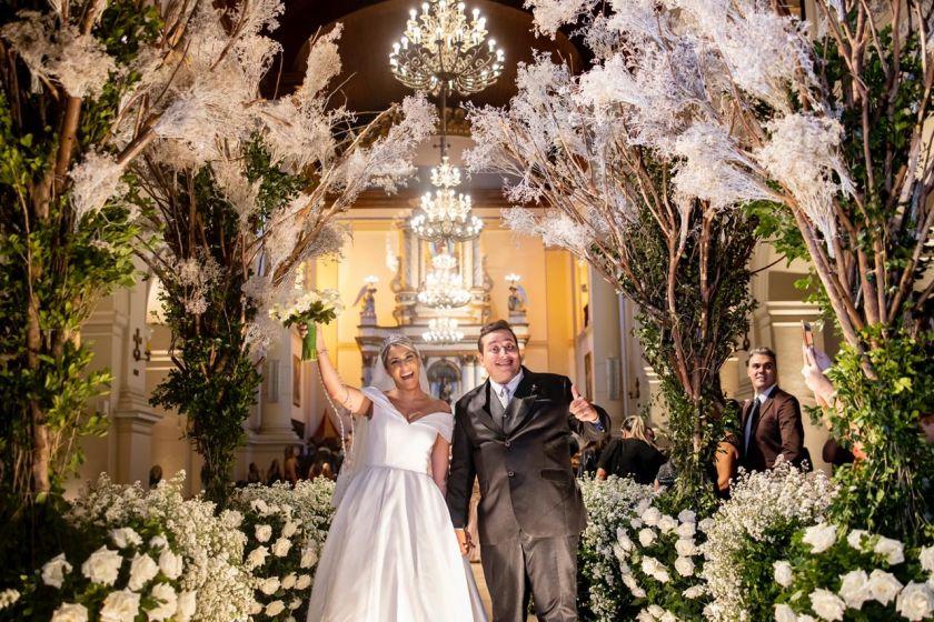 Casamento do humorista Renan da Resenha e Ana Luisa