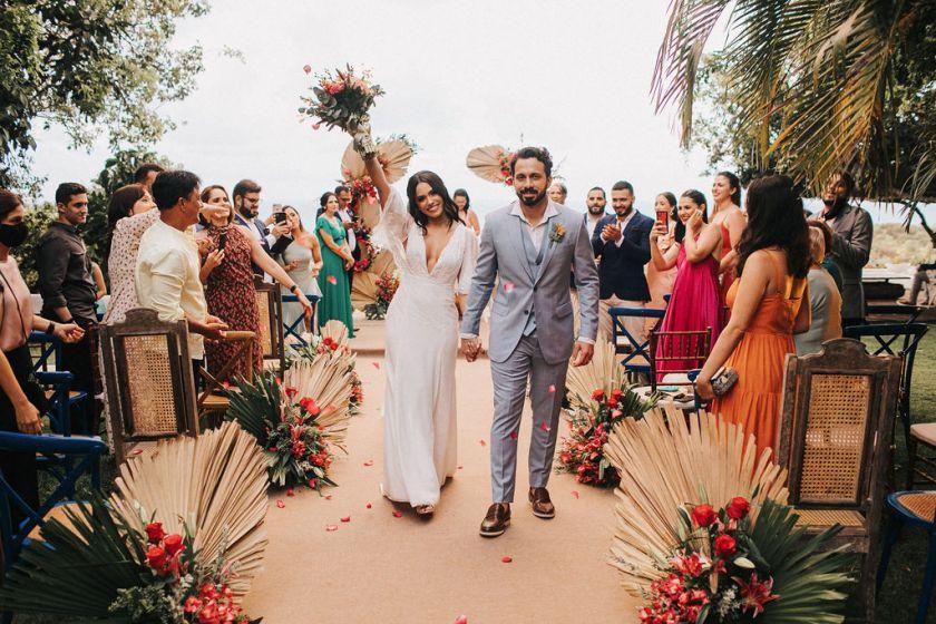 Casamento em Pipa, RN - Celina e Edvaldo