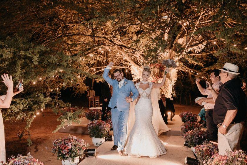 Casamento na fazenda - Luciane e Franklin