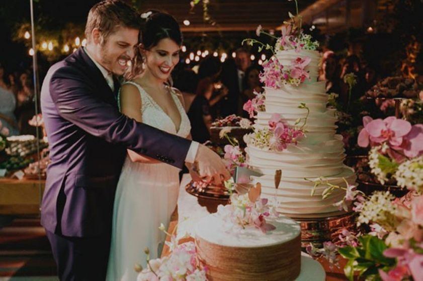 Casamento no Rio de Janeiro - Fábio Porchat e Nataly Mega