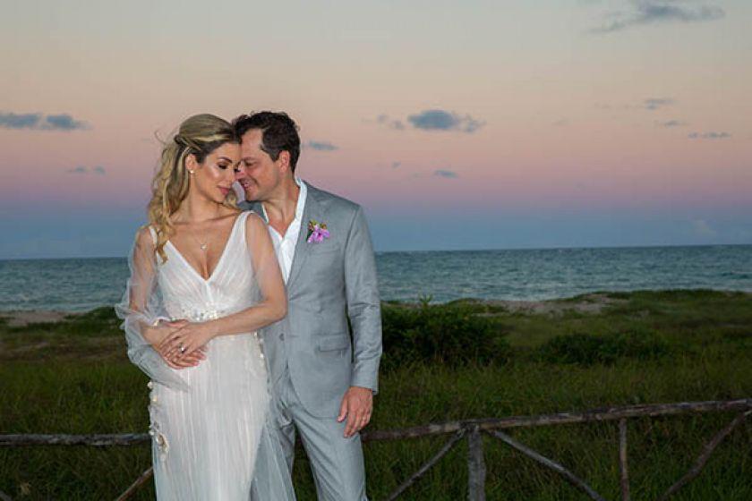 Casamento na Praia: Helena Lunardelli e Eduardo Azevedo