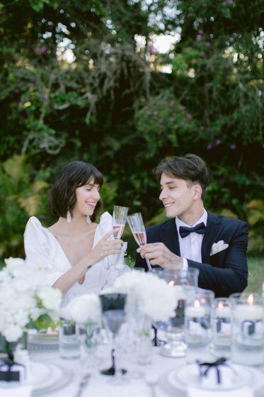 Casamento moderno no campo - Mariah e Gilberto