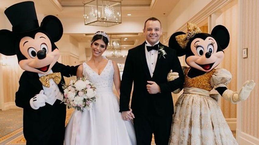 Casamento na Disney - Carol e Vinicius