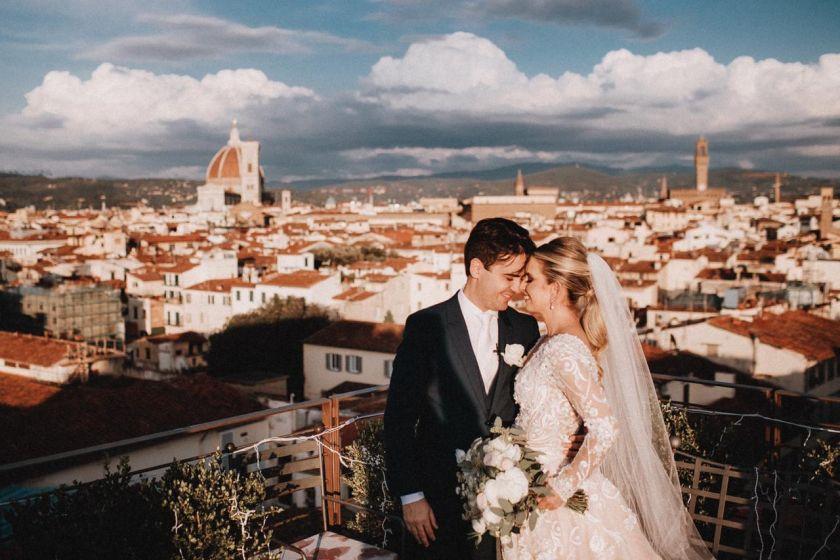 Destination Wedding  na Italia: Dannielle e Cândido