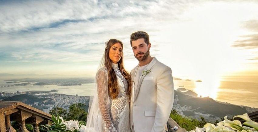 Casamento no Rio de Janeiro:  Dj Alok e Romana Novais