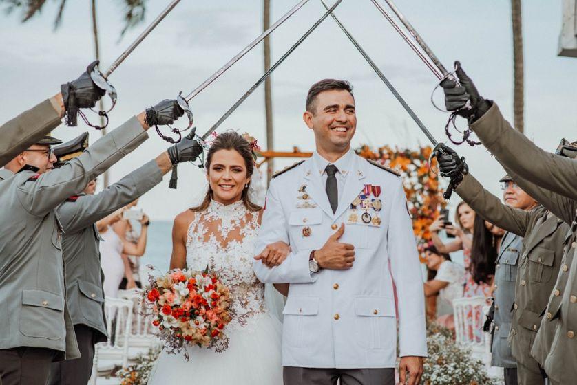 Casamento à beira mar em João Pessoa - Silvinha e Arthur