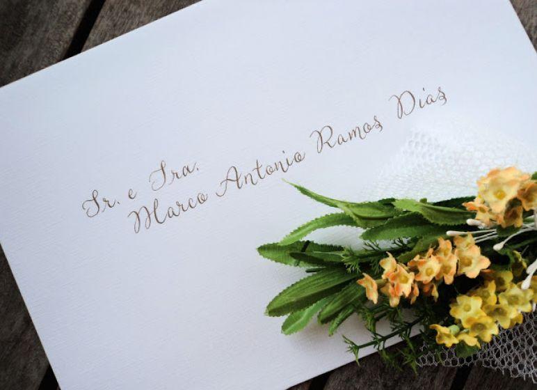 Como fazer o endereçamento de Convite de Casamento?