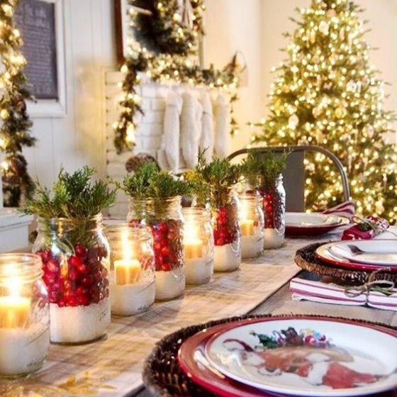 Dicas para decorar a mesa para o Natal