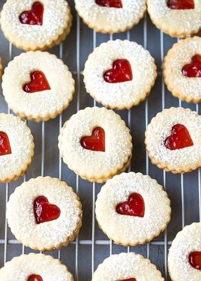 Dia dos Namorados - Comidas em formato de coração