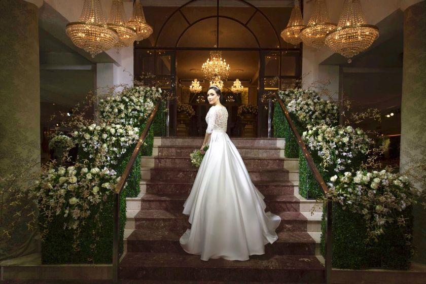 Diário de uma noiva: A decoração da casa de festas e o bolo