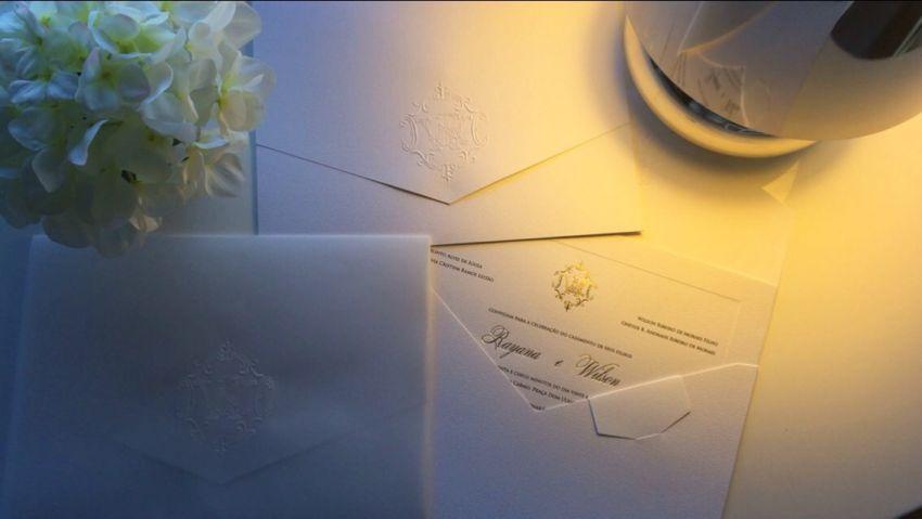 Diário de uma Noiva: Convite