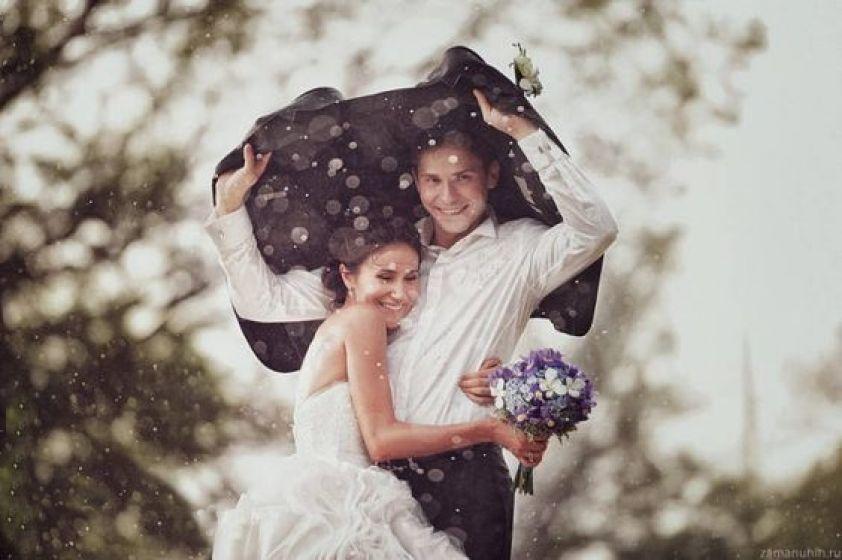 E se chover no dia do casamento?