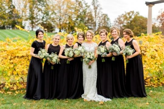 Casamento Elegante Dourado e Preto