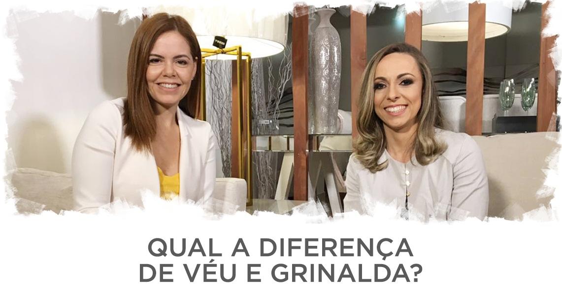 Assista: Qual a diferença de véu e grinalda? A estilista Alessandra Sobreira responde.