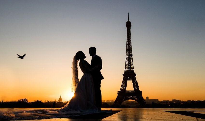 Ensaio em Paris - Mariana e João