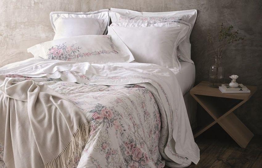 Como tornar seu quarto lindo com uma estampa floral
